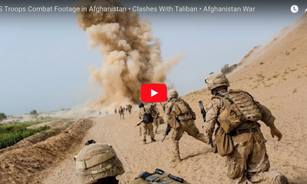 US Troops Combat Footage in Afghanistan – Clashes With Taliban