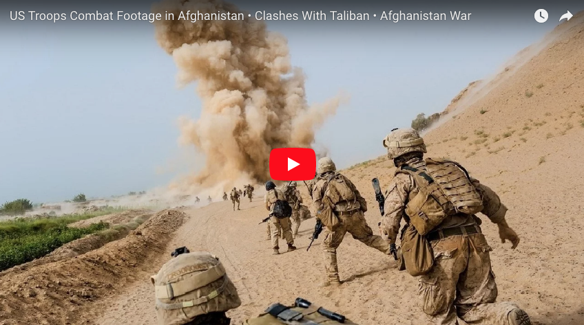 US Troops Combat Footage in Afghanistan - Clashes With Taliban - US