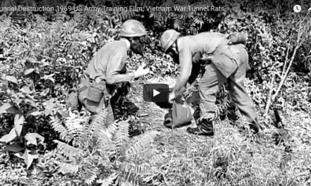 Vietnam Tunnel Rats; Tunnel Destruction US Army Training Film