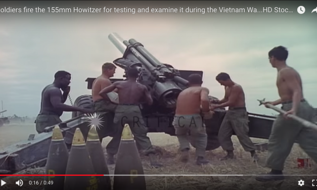 Howitzer Firing for Testing and Examination/Maintenance, Vietnam