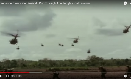 Real Vietnam Footage set to the Music of CCR Run Through The Jungle
