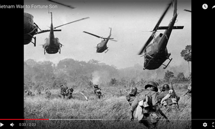 Vietnam Footage set to Fortunate Son – CCR