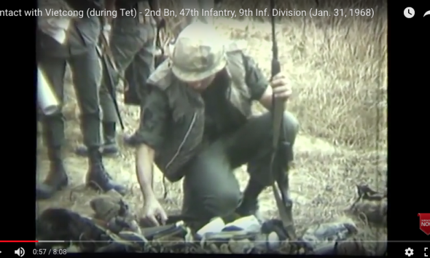 Contact with Viet Cong TET – 9th Inf. Division