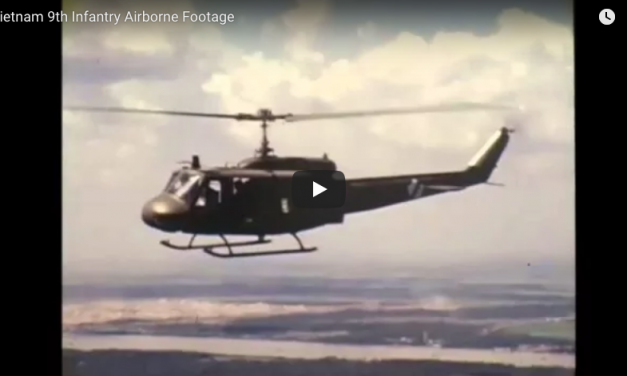 9th Infantry Vietnam Chopper Footage