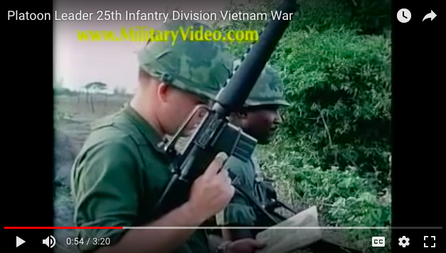 Platoon Leader 25th Infantry Division Vietnam