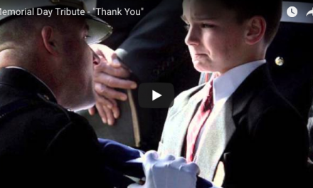 "Memorial Day Tribute – ""Thank You"""