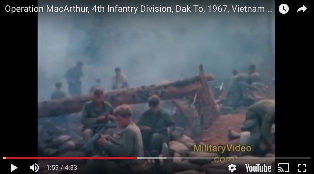 Operation MacArthur, 4th Infantry Division, Dak To