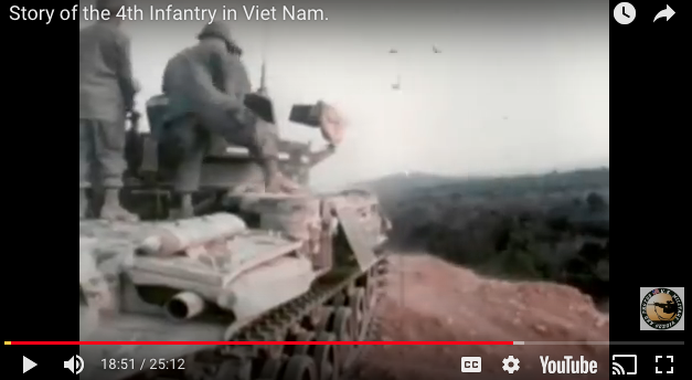 Story of the 4th Infantry in Viet Nam