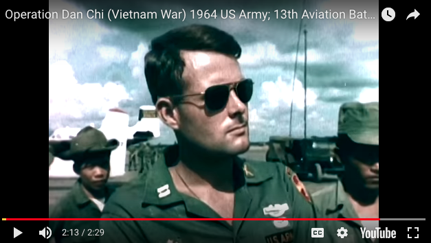 Operation Dan Chi; 13th Aviation Battalion Supports ARVN 21st Infantry