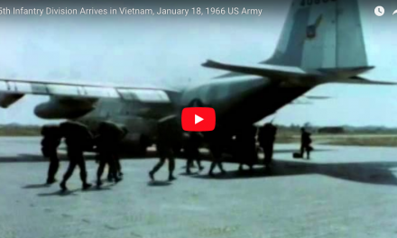 25th Infantry Division Arrives in Vietnam – Jan 18th 1966
