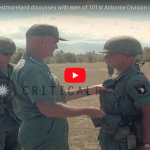 General William C. Westmoreland Speaks with Men of 101st Airborne Division in Vietnam